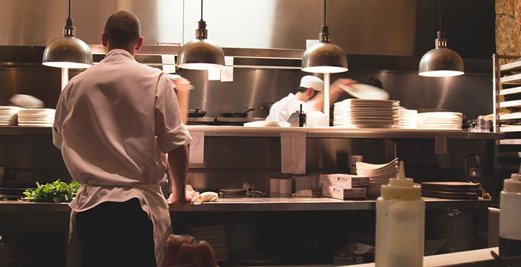 Becarios cocina